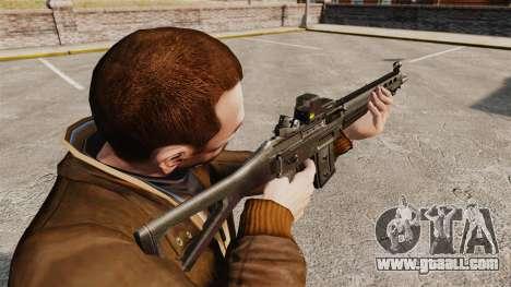 SIG 551 assault rifle for GTA 4 second screenshot