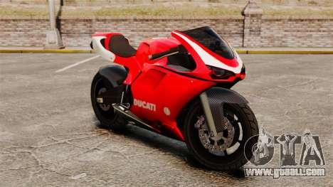 Ducati 1098 for GTA 4 left view