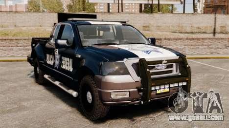 Ford F-150 De La Policia Federal [ELS & EPM] v1 for GTA 4