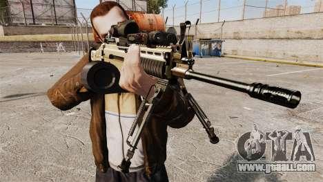 Assault machine FN SCAR-L for GTA 4 third screenshot