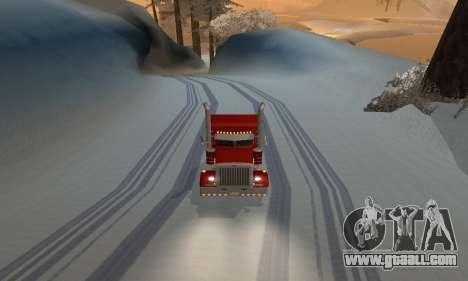 Winter mod for SA: MP for GTA San Andreas third screenshot