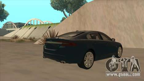 Jaguar XFR 2010 v1.0 for GTA San Andreas right view