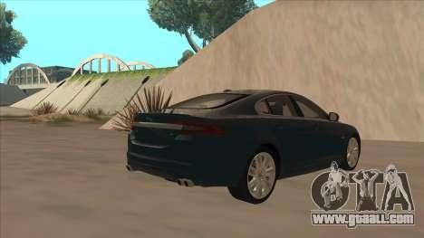 Jaguar XFR 2010 v1.0 for GTA San Andreas