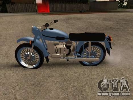 Ural m-67 for GTA San Andreas left view
