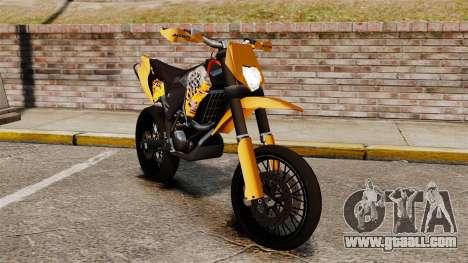 KTM EXC 450 SuperMotard for GTA 4