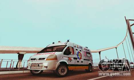 Renault Master PCSO AMBULANCE for GTA San Andreas