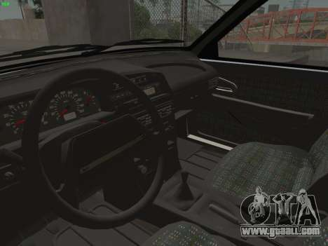 ВАЗ 2114 for GTA San Andreas interior