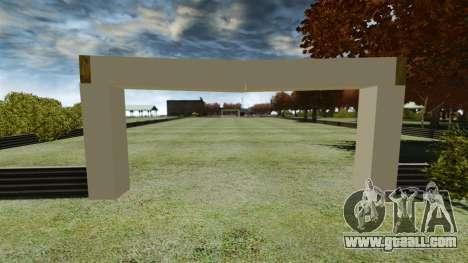 Soccer field for GTA 4 second screenshot