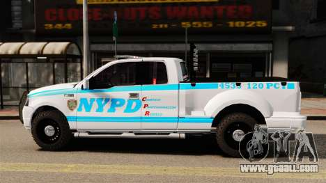 Ford F-150 v3.3 NYPD [ELS & EPM] v3 for GTA 4 left view