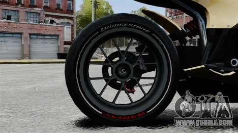 Ducati 848 for GTA 4 back view