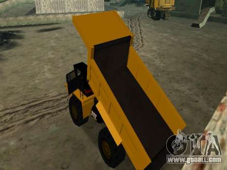 New Dumper for GTA San Andreas interior