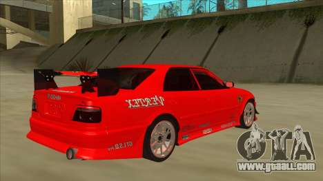 Toyota Chaser JZX100 DriftMuscle for GTA San Andreas right view