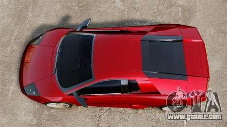 Lamborghini Murcielago 2005 for GTA 4 right view