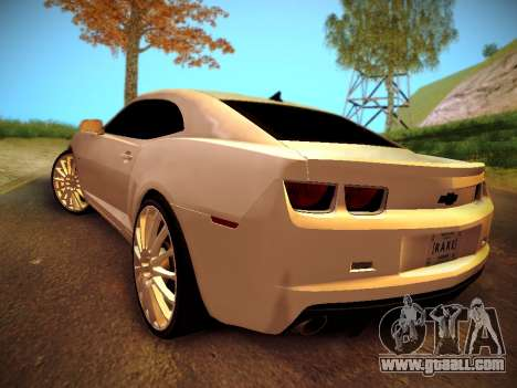 Chevrolet Camaro SS Tuning for GTA San Andreas left view