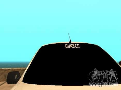 Lada Granta for GTA San Andreas back left view