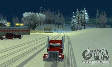 Winter mod for SA: MP for GTA San Andreas second screenshot