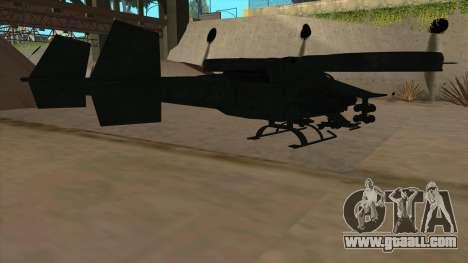 AT-99 Scorpion Gunship from Avatar for GTA San Andreas right view