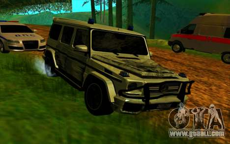 Mercedes-Benz G65 AMG 2013 for GTA San Andreas side view