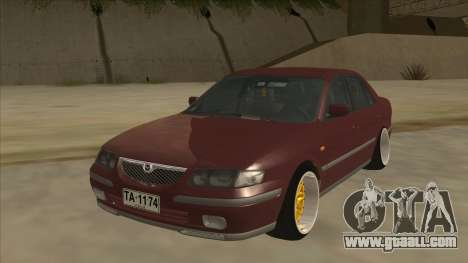 Mazda 626 Hellaflush for GTA San Andreas