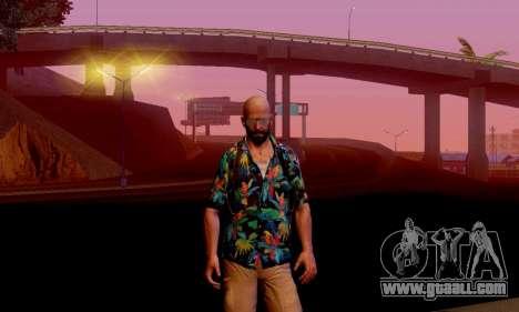 Max Payne 3 for GTA San Andreas second screenshot