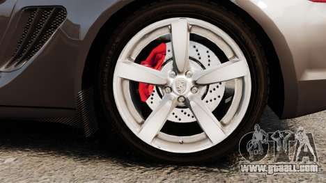 Porsche Cayman S for GTA 4 back view