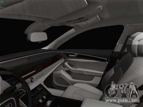 Audi A8 Limousine for GTA San Andreas interior