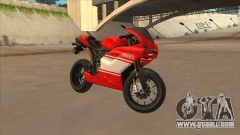 Ducatti Desmosedici RR 2012 for GTA San Andreas