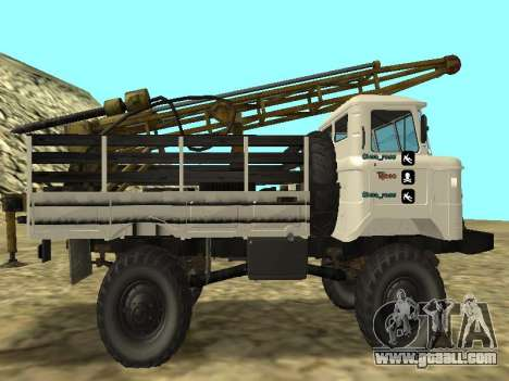 66 Gas Drilling for GTA San Andreas left view
