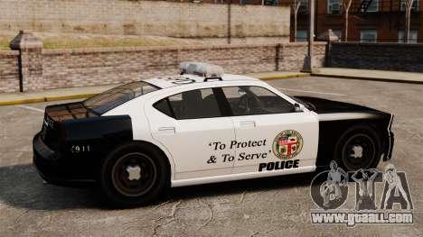 Buffalo police officer LAPD v2 for GTA 4 left view