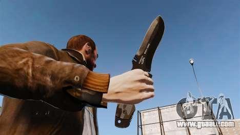 Tactical knife v2 for GTA 4 third screenshot