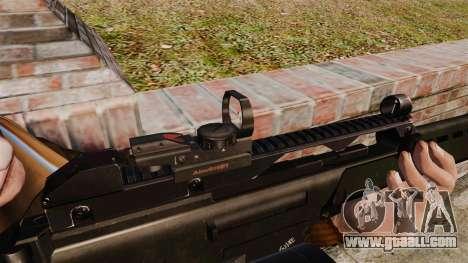 MG36 v4 H&K assault rifle for GTA 4 forth screenshot