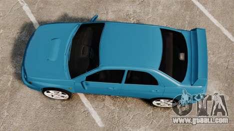 Subaru Impreza for GTA 4 right view