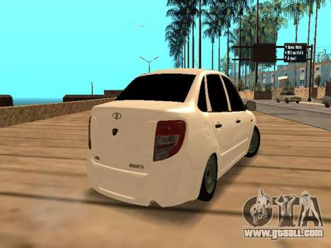 Lada Granta for GTA San Andreas right view