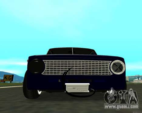 VAZ 2101 Baby v3 for GTA San Andreas back left view