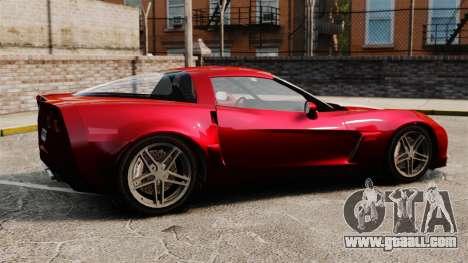 Chevrolet Corvette C6 Z06 V1.1 for GTA 4 left view