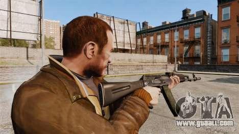 AK-74M for GTA 4 second screenshot