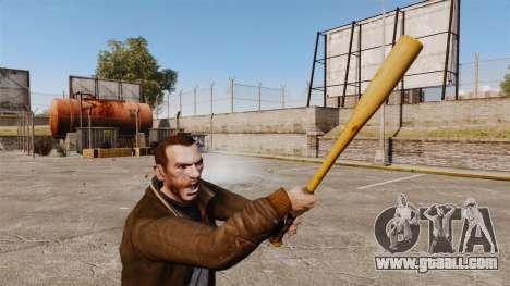 New baseball bat for GTA 4 third screenshot