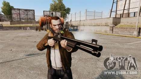 Tactical shotgun Fabarm SDASS Pro Forces v2 for GTA 4 third screenshot