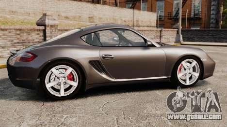 Porsche Cayman S for GTA 4 left view