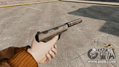 Walther P99 semi-automatic pistol v2 for GTA 4 second screenshot