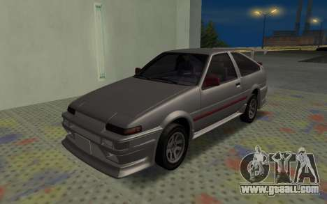 Toyota Corolla GT-S Tunable for GTA San Andreas side view
