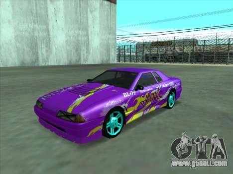 Drift elegy by KaMuKaD3e for GTA San Andreas interior