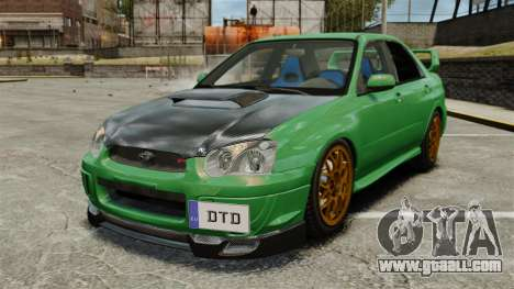 Subaru Impreza 2005 DTD Tuned for GTA 4