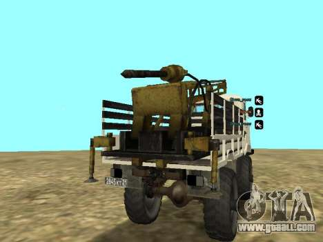 66 Gas Drilling for GTA San Andreas right view