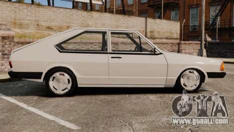 Volkswagen Passat TS 1981 for GTA 4 left view