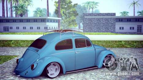 Volkswagen Beetle 1966 for GTA San Andreas right view