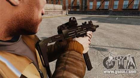 Tactical Uzi v3 for GTA 4 second screenshot
