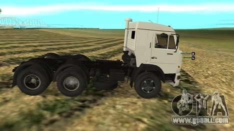 KAMAZ-54112 for GTA San Andreas left view