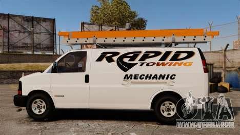 GMC Savana 2500 Rapid Towing Mechanic for GTA 4