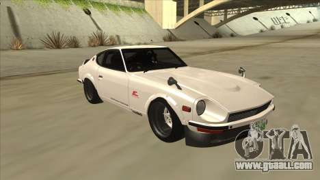 Nissan Fairlady Z - 240z for GTA San Andreas back view